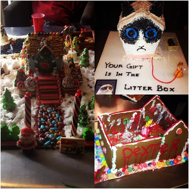 Here are some favorites from our Neutron Gingerbread House Competition!