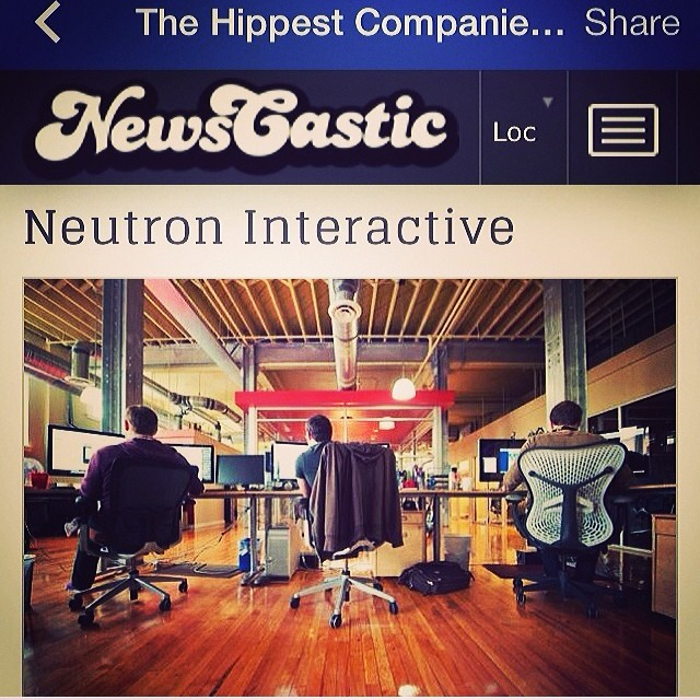 Neutron made it to NewsCastic's Hippest Companies in Utah list!