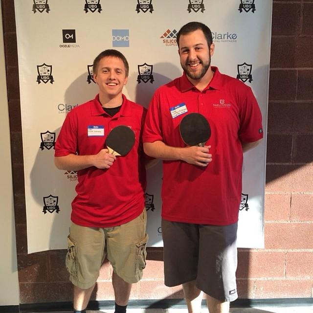 Ping Pong Rally is On! Representing Neutron at the Utah Business Games!  #UtahBizGames @utbusinesgames