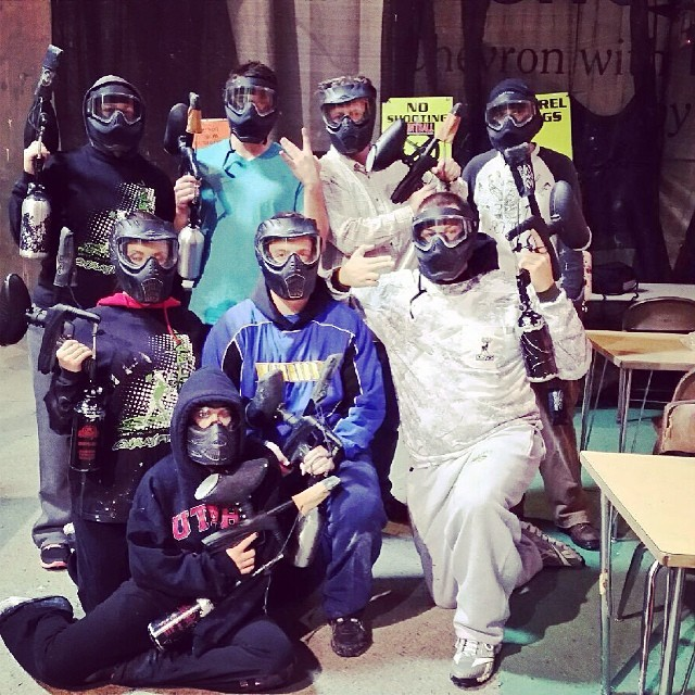 Throw Back to last week when one of our Neutron teams went paint balling for their April team activity! Oh and ladies got in free! ;)