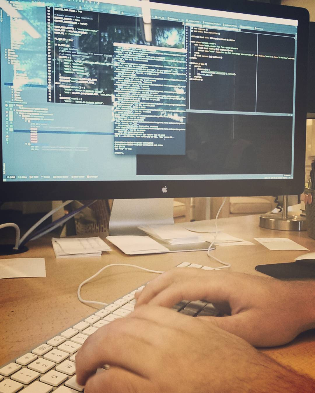 @mjonaitis is fixing the world. #devlife #neutronhq