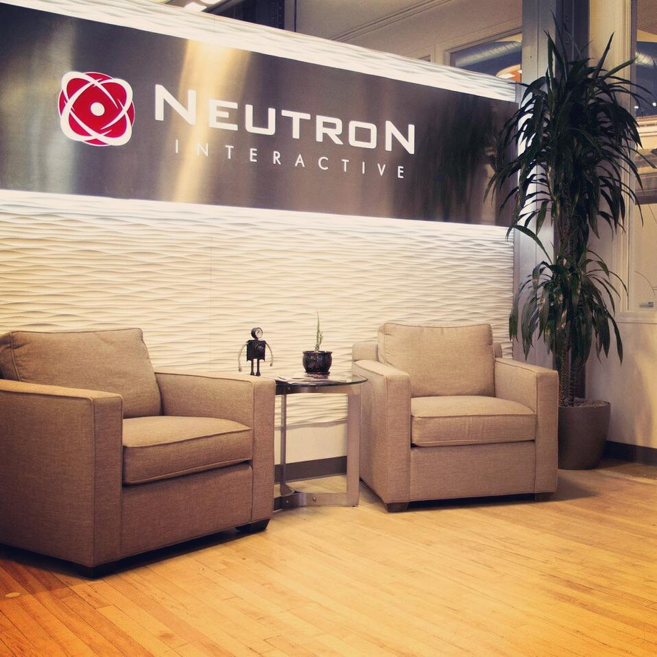 Welcome to our office.  #officeentrance #officespace #office #lovewhereyouwork #takealoadoff #neutronhq